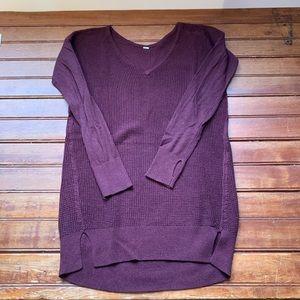 Lululemon Purple Sweater Thermal